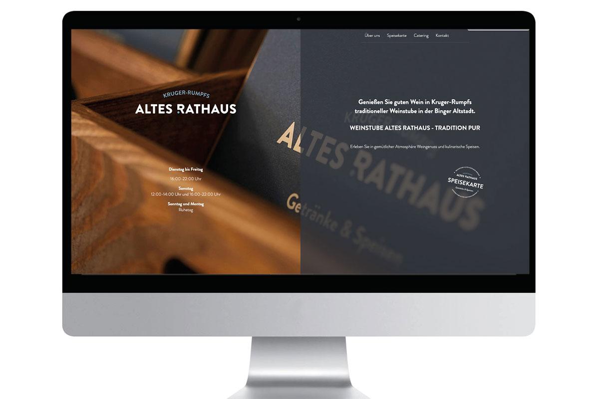 Webseite Altes Rathaus Bingen