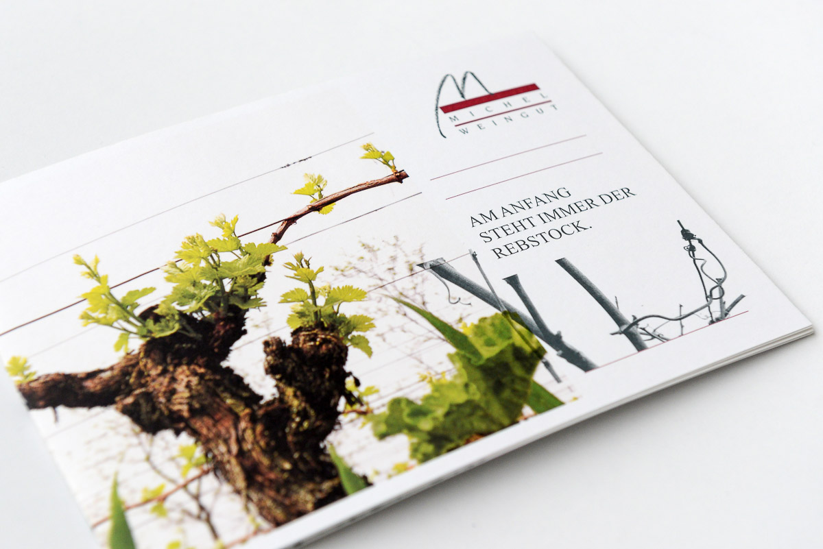 Corporate Design für VDP-Weingut Michel