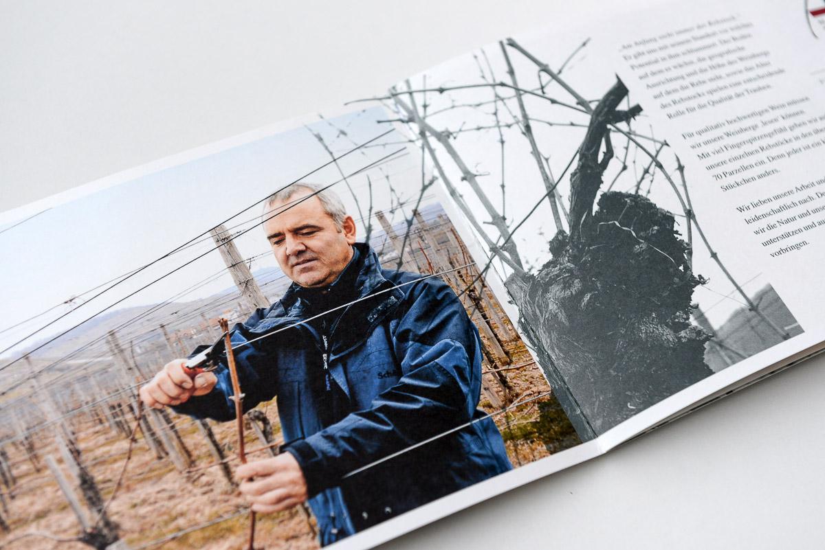 Webseite Weingut Michel